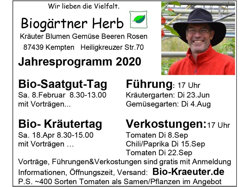 Biogärtnerei Herb